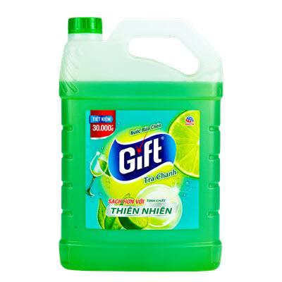 Nước rửa chén Gift Trà Chanh 3.8kg