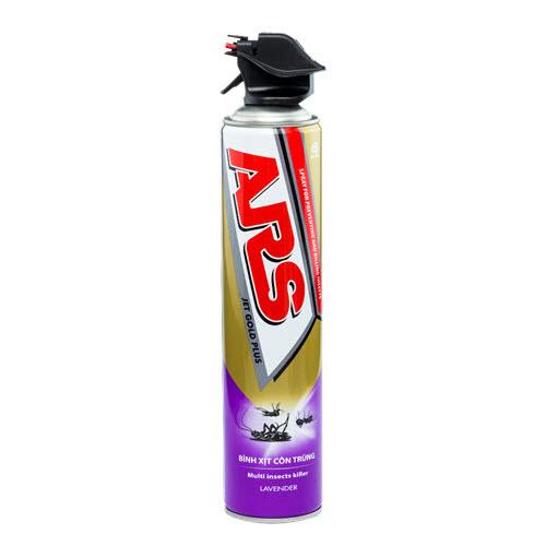Xịt côn trùng ARS Jet Gold Plus Lavender 600ml