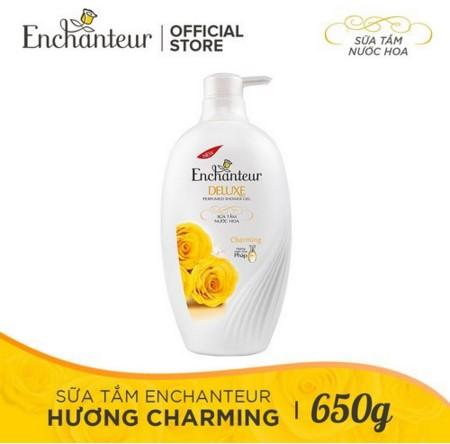 Sữa tắm hương nước hoa Enchanteur Charming 650g