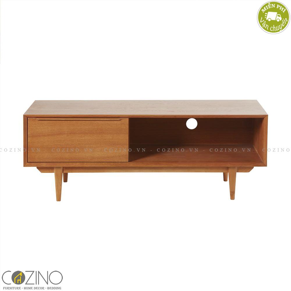 Tủ tivi nhỏ Portobello gỗ tự nhiên
