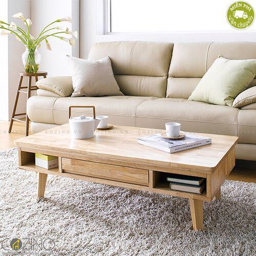 Bàn sofa IXORA gỗ tự nhiên  - cozino