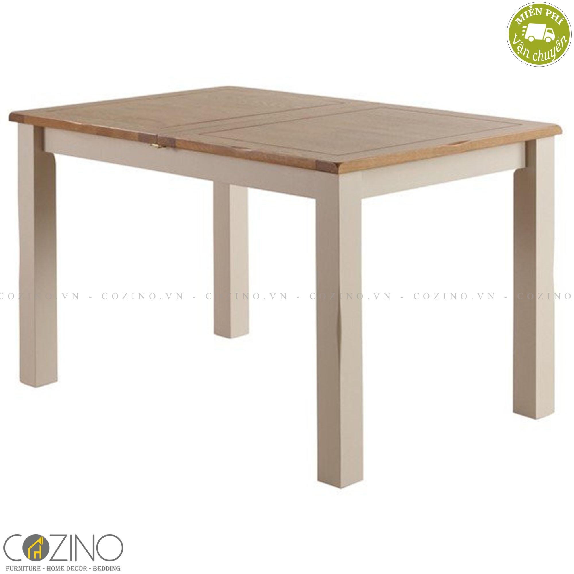 Bàn ăn 8-10 chỗ Sintra 100% gỗ sồi 2m4 (240x120cm) - cozino