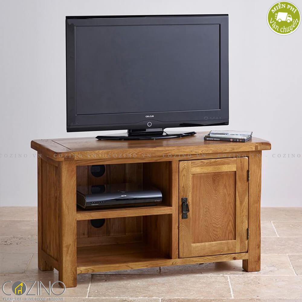Tủ tivi Original Rustic nhỏ 1m gỗ sồi