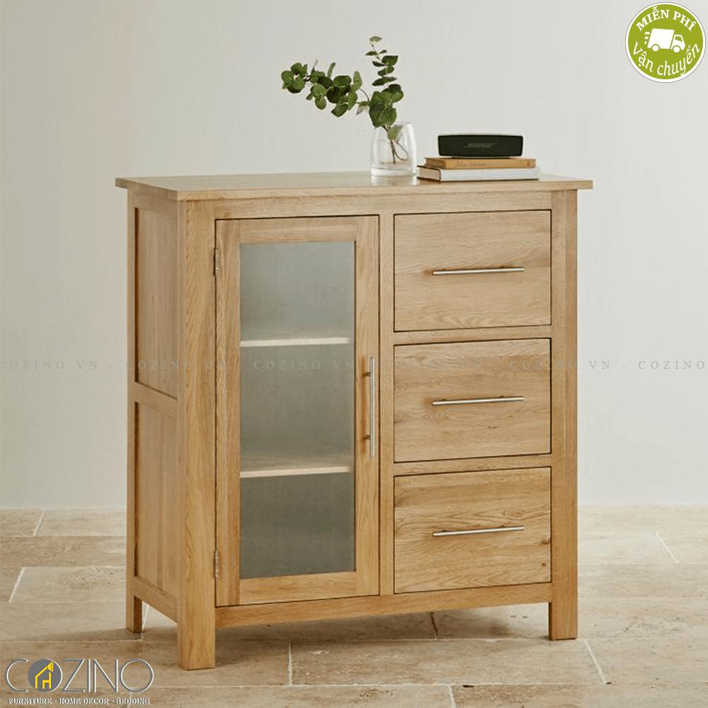 Tủ lưu trữ Kintai gỗ sồi