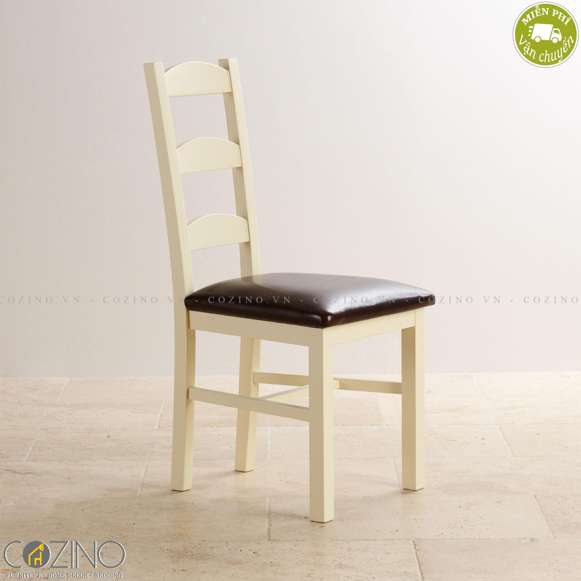 Ghế bàn ăn gỗ sồi Canary - Cozino