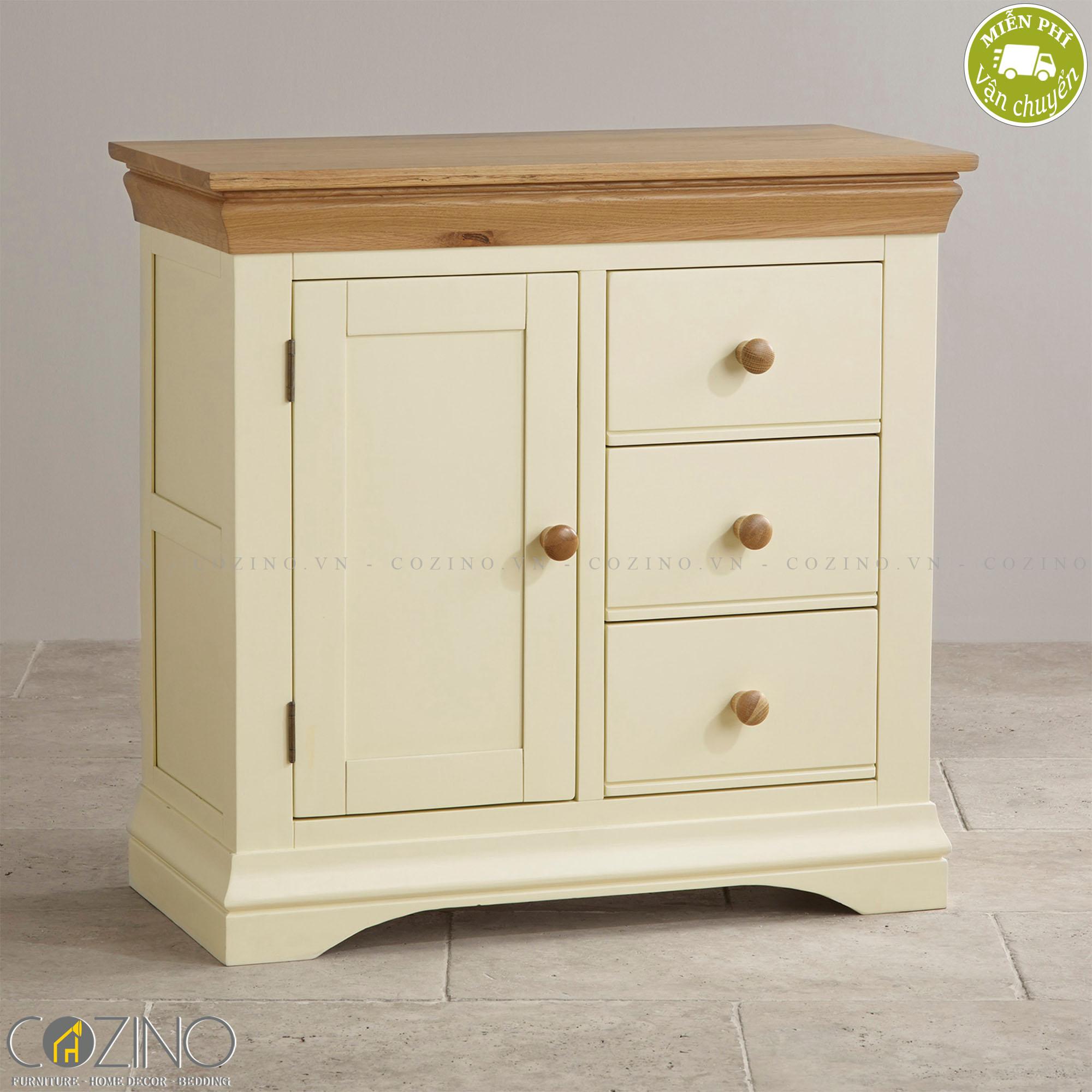 Tủ lưu trữ Canary gỗ sồi - Cozino