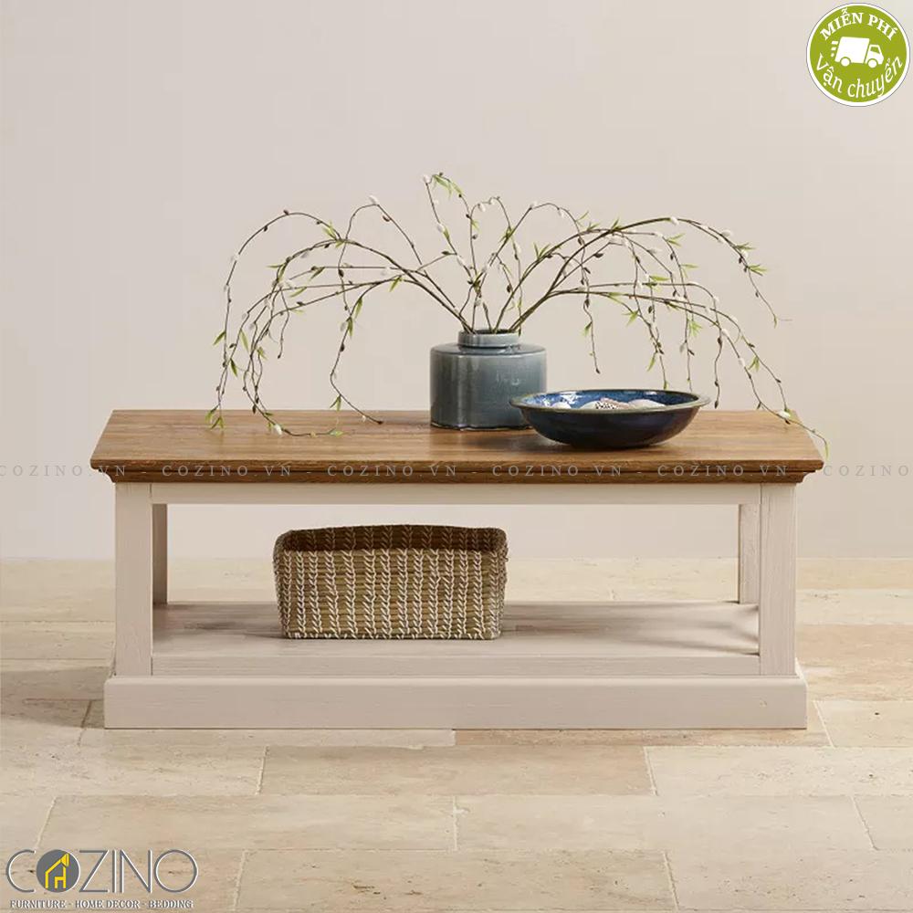 Bàn sofa Sark gỗ sồi - Cozino