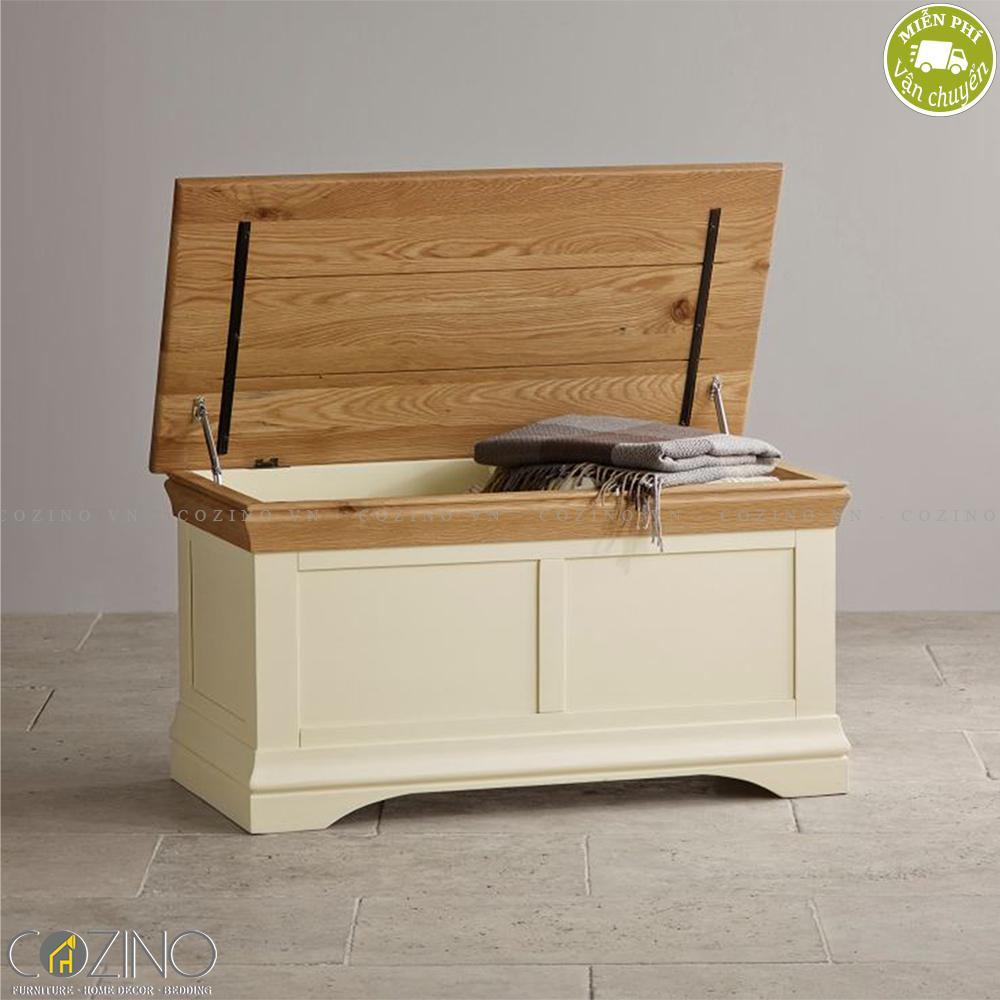Rương Canary gỗ sồi - Cozino