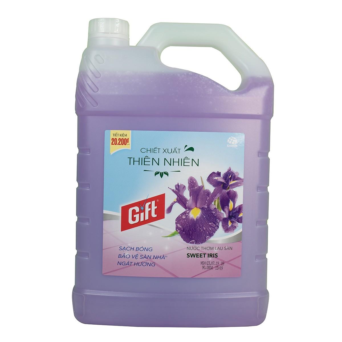 Lau sàn Gift Sweet Iris 3.8 KG