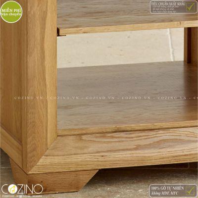 Bàn góc Camber gỗ sồi