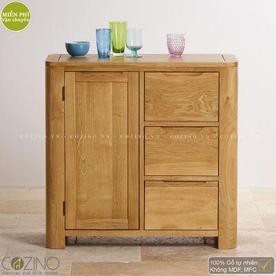 Tủ lưu trữ Emley gỗ sồi