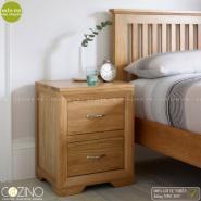 Tủ đầu giường Camber 2 ngăn gỗ sồi