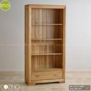 Tủ kệ sách cao Camber gỗ sồi