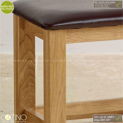 Bàn trang điểm Camber gỗ sồi