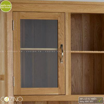 Tủ bếp lớn Camber gỗ sồi