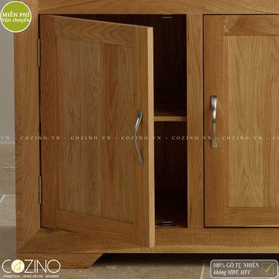 Tủ chén lớn Camber gỗ sồi