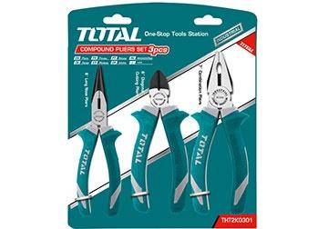 Bộ 3 kềm răng, cắt và nhọn